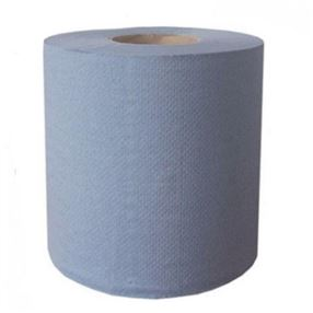 Centrefeed 2 Ply Blue Rolls Pack of 6
