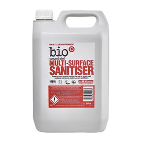 Bio D Multi Surface Sanitiser Refill 5 litre