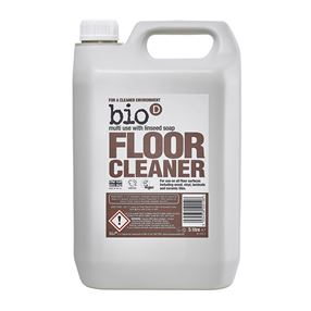Bio D Floor Cleaner with Linseed Soap, 5 Litre Refill