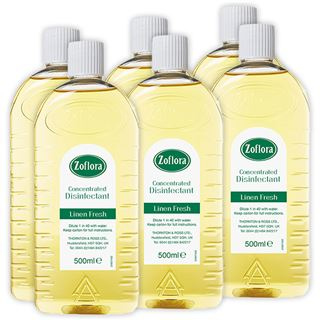 Zoflora Zoflora Concentrated Disinfectant Linen Fresh 500ml