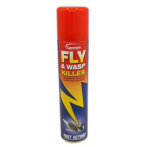 Sanmex Fly & Wasp Killer 300ml Spray