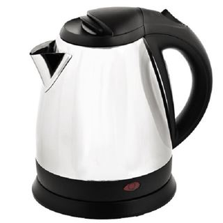 Corby Chrome and Black 1 Litre Kettle