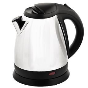 Chrome and Black Hotel Kettle 1 Litre
