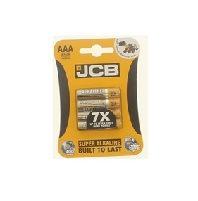 Alkaline Batteries AAA Pack of 4