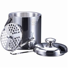 Vinn Dunn Ice Bucket With Concealed Tongs