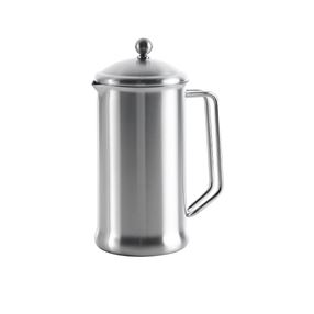 Single Walled 8-Cup Cafetiere - Satin Finish