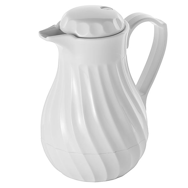 Insulated Jug 0 3l White Drink Service Out Of Eden