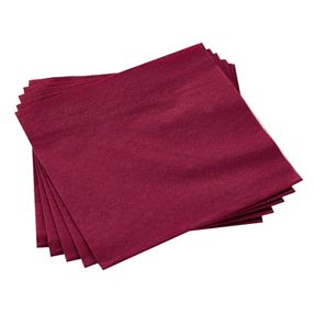 2 Ply Paper Napkins Bordeaux