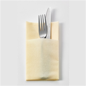 Airlaid Pop In Napkins Buttermilk Pack of 500