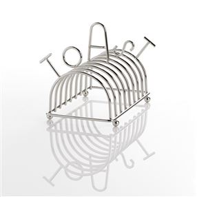 Stainless Steel TOAST Rack, 8 Slot