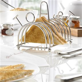 Out of Eden Stainless Steel TOAST Rack, 8 Slot