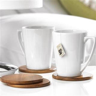 Acacia Wood Coasters Set of 4