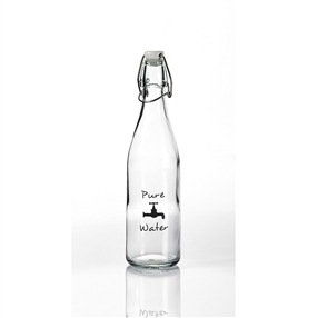 Pure Tap Glass Water Bottle 500ml