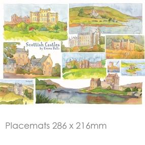 Scottish Castles Place Mats & Coasters