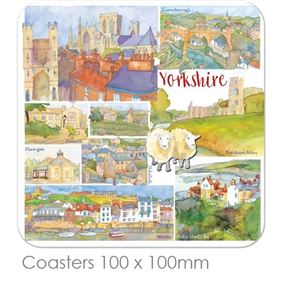 Emma Ball Yorkshire Place Mats & Coasters