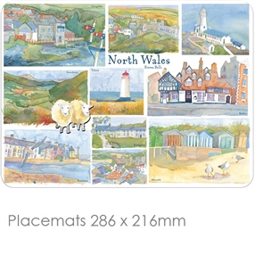 Placemat Emma Ball Regional Design North Wales