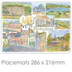 Derbyshire Place Mats & Coasters