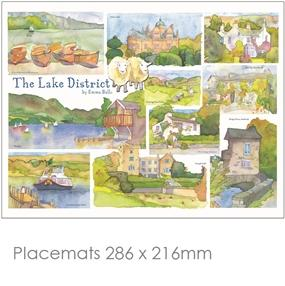 Placemat Emma Ball Regional Design / Lake District