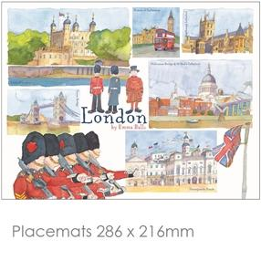 London Place Mats & Coasters