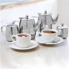 D P S Tableware Ltd Stainless Steel Tea Pot 17oz (480ml)