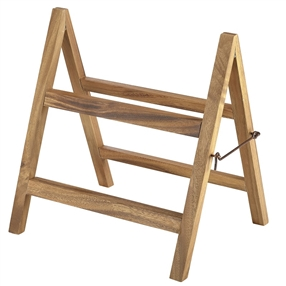 Wooden Tray Stand
