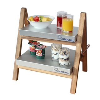 Out of Eden Wooden Tray Stand