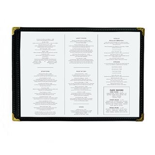 Out of Eden Best Value Clear Menu Holder