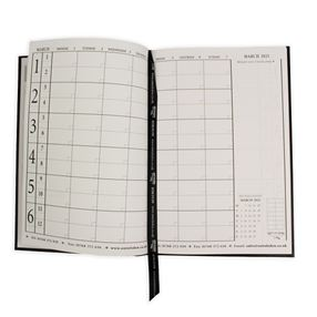 Out of Eden Reservations Diary 2021 A4 Black