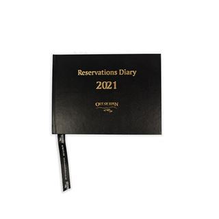 Out of Eden Reservations Diary 2021 A5 Black