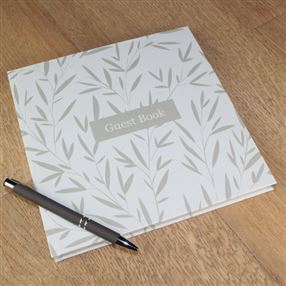 Guest Book Leaf Design