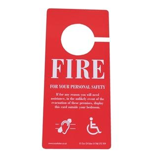 Laminated Disabled Door Signs