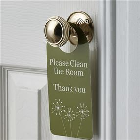 Out of Eden Dandelion Do Not Disturb Door Hangers