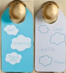 Out of Eden Cloud Door Hangers