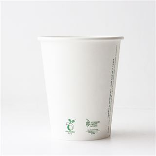 Vegware Compostable 8oz Paper Cup