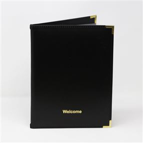 Ryland Welcome Folder Black