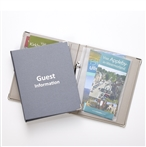 Wren A5 Guest Information Folder Pewter