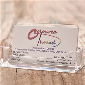 Business Card Holder, Landscape