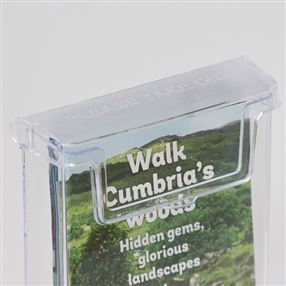 Outdoor 1/3 A4 or DL Leaflet Holder