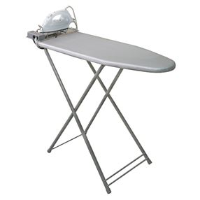 Corby Berkshire Compact Ironing Board & Dry Iron
