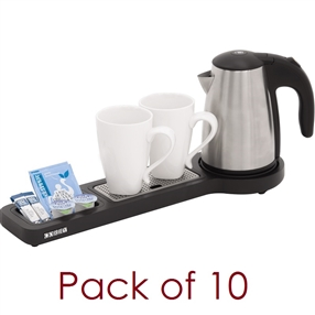 Corby Beckett Tray With Kettle Pack Of 10
