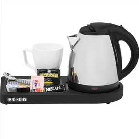 Corby Compact Welcome Tray With Kettle