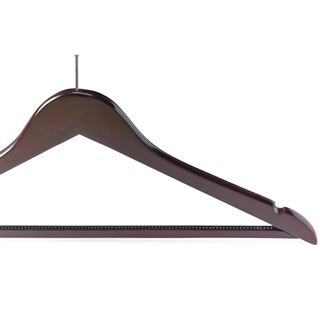 Out of Eden Luxury Wooden Security Hanger in Light or Dark Wood