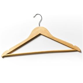 Wooden Hanger with Hook