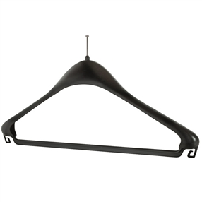 Plastic Security Coat Hanger