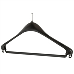 Black Plastic Security Hanger