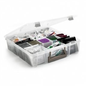 Housekeeping Caddy with Removable Dividers