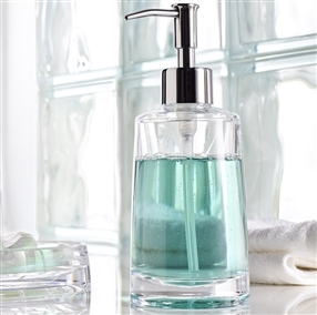 Clear Acrylic Soap Dispenser