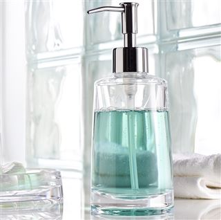 Glam Clear Acrylic Soap Dispenser