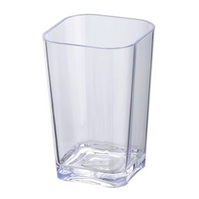 Clear Bathroom Tumbler