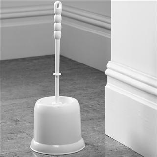 Plastic Open Toilet Brush Set